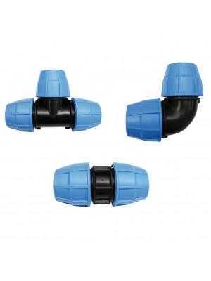 Raccorderia a compressione BLUE