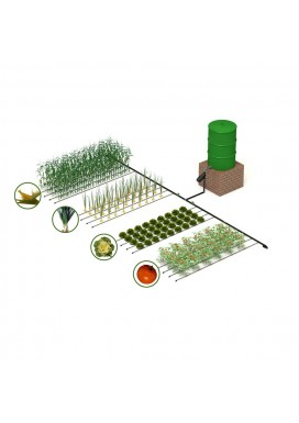Kit irrigazione a goccia